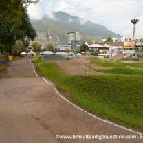 La pista Bmx Alto Adige Suedtirol: dopo la curva