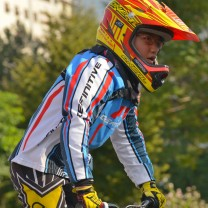Le prove finale bmx  2014 Bolzano: Robinson Scaramuzza G2
