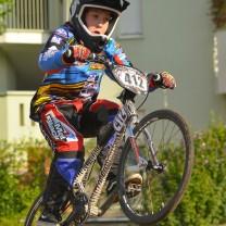 Le prove finale bmx  2014 Bolzano: Stefano e la sua grinta