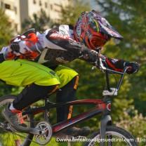 Posizione perfetta di questo Rider del team bmx Verona