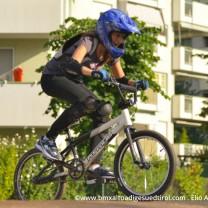 Lena del Dynamica Bike MTB e la sua prima prova