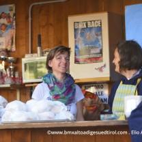 Iris e Federica al bar Bmx PitStop