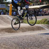 Simone Testa . Gara 6 campionato italiano BMX 2014 Creazzo