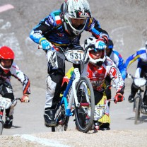 Oskar Schilling . Gara 6 campionato italiano BMX 2014 Creazzo