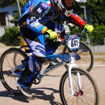 Thomas Jan Taddei . Gara 6 campionato italiano BMX 2014 Creazzo