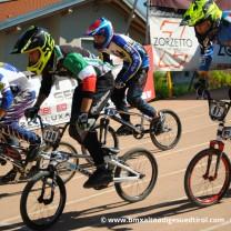 Devid Lubian . Gara 6 campionato italiano BMX 2014 Creazzo