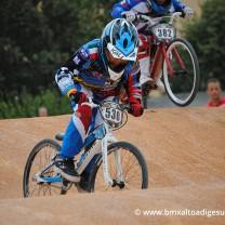 Robinson Scaramuzza . Gara 6 campionato triveneto 2014 San Giovanni Lupatoto BMX Race