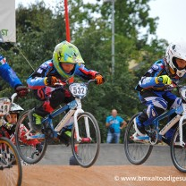Taddei Thomas Jan + Julian Stmpfl . Gara 6 campionato triveneto 2014 San Giovanni Lupatoto BMX Race