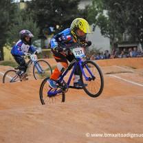 Edoardo Rompietti . Gara 6 campionato triveneto 2014 San Giovanni Lupatoto BMX Race