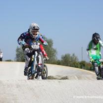 Oskar Schilling . Gara 7 campionato italiano BMX 2014