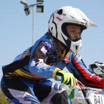 Thomas Jan Taddei . Gara 7 campionato italiano BMX 2014