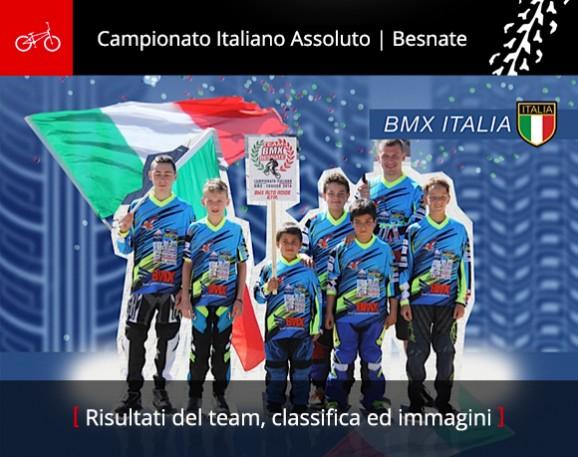 03.07.2016 BMX Besnate Campionato Italiano Assoluto